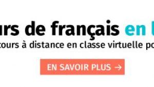 Cours de Français à distance