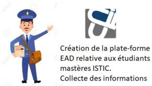 Collecte des adresses Email des étudiants nouveaux des mastères ISTIC